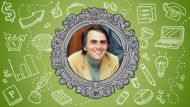 Carl Sagan's Best Productivity Tricks