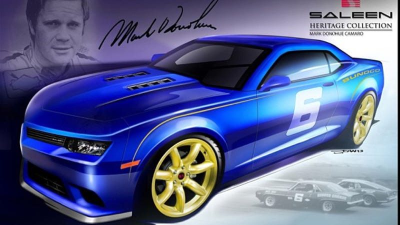 Saleen Releases Mustang Named After Awesome Road Racer