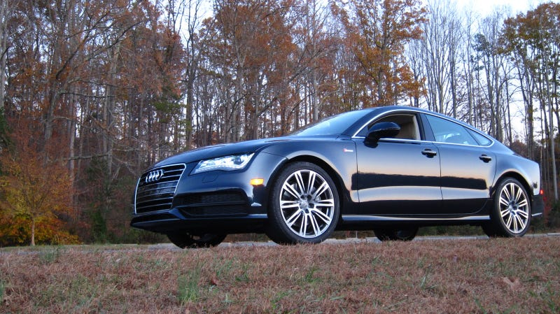 Somebody Stole Automobile's Free Audi A7