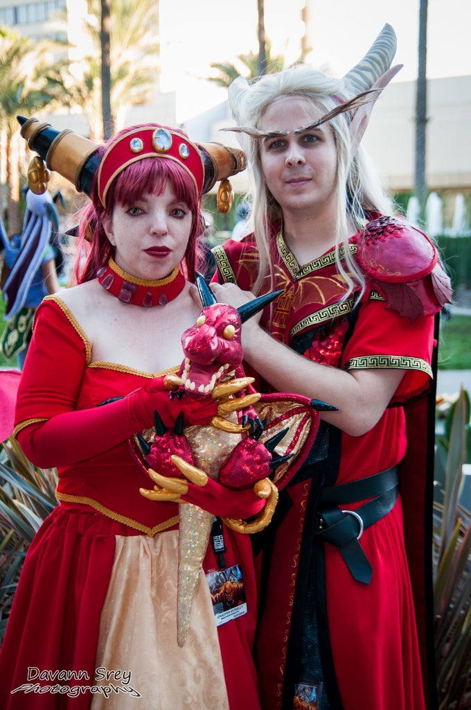 Glorious video game cosplay from this weekend's BlizzCon