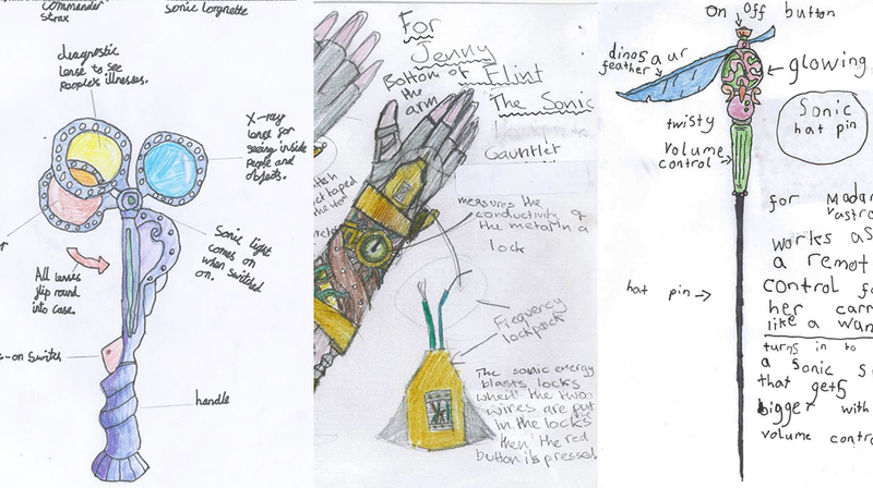 The winners of Blue Peter's 'Design a Sonic Device' contest are glorious