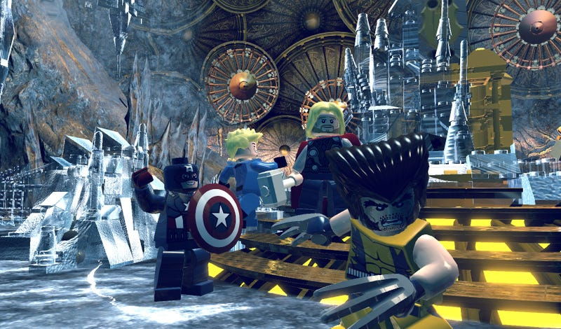 There's Something Poetic About The Home Of The Norse Gods In LEGO Form