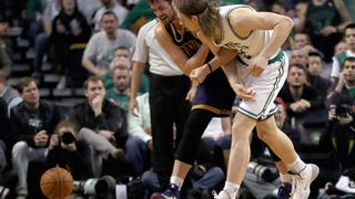 Kelly Olynyk Says He <i>Accidentally</i> Dislocated Kevin Love's Shoulder