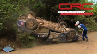 Canadian Rally Champion Pat Richard Retires