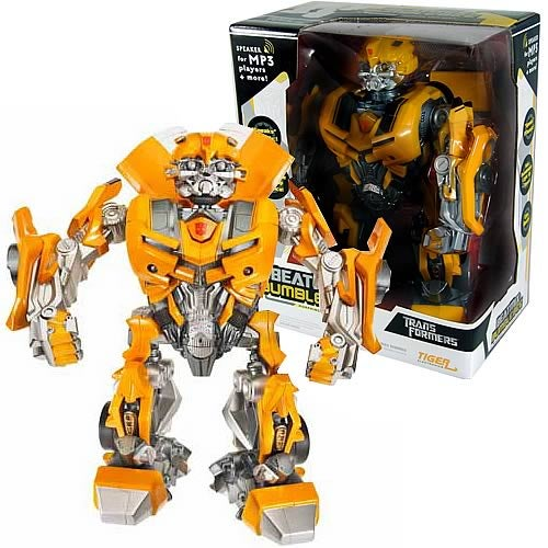 Transformers Beatmix Bumblebee Remixes Your Music, Dances Too