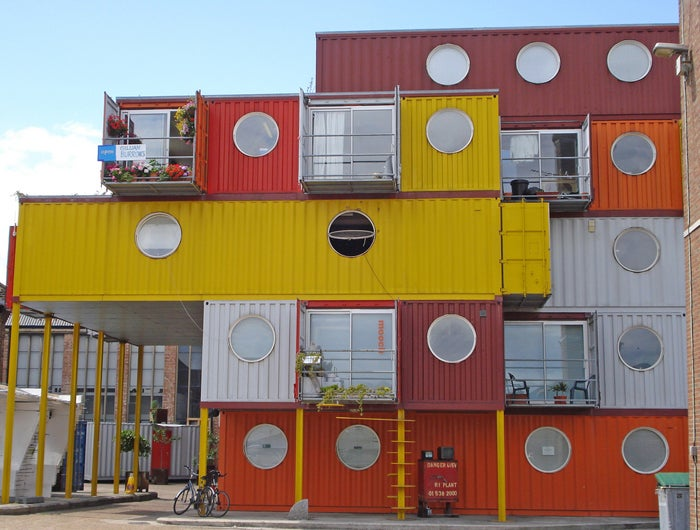 Living Out of a Shipping Container in Style