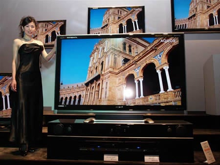Sharp Refreshes 1080p LCD HDTVs in Japan: the R Series