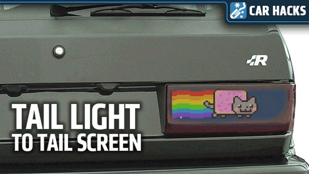 Turn Old Unwanted Netbooks Into Amazing Animated Taillights