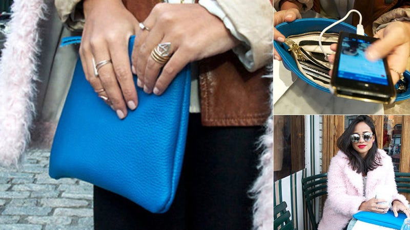 We Want This Purse That Will Fashionably Recharge Your Phone or iPad