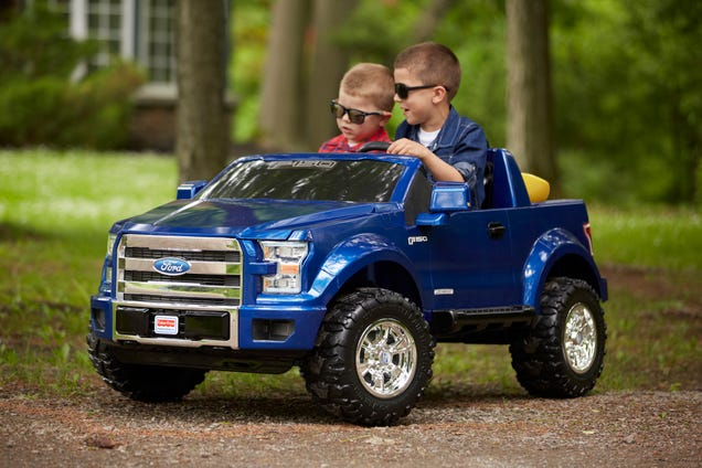 The Ford F-150 Power Wheels Truck Is For Rugged Little Boys And Girls