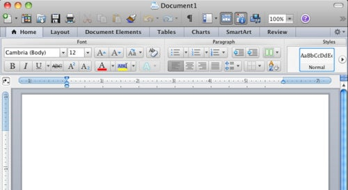 First Look at the Microsoft Office 2011 Beta - Gallery