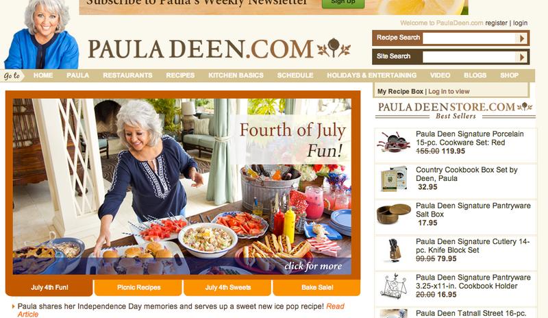 Paula Deen Broke Up With Her Agent