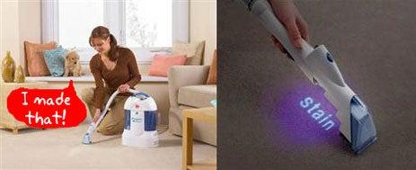 Dirt Devil Portable Extractor Illuminates Your Pet's Evil Side