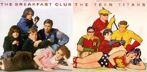 Comic Book Hero Album Remix: The Teen Titans Club