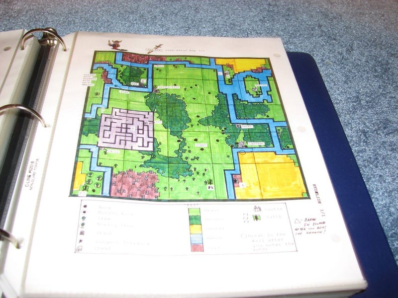 Inside A Nintendo Power Line Game Guide