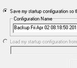 StartupSelector Saves and Swaps Your Windows Startup Configuration