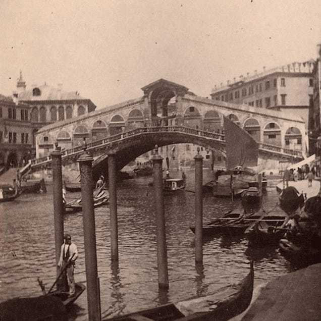 20 Stereograms That Bring the Great Bridges of the 19th Century To Life