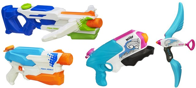 Nerf's Summer 2014 Super Soakers: A Shootout in One Act