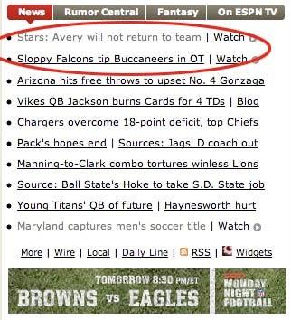 ESPN Keeps Us Entertained With Ironic Headlines