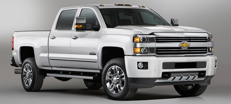 Chevy Silverado HD High Country Brings More Bling To Work Trucks