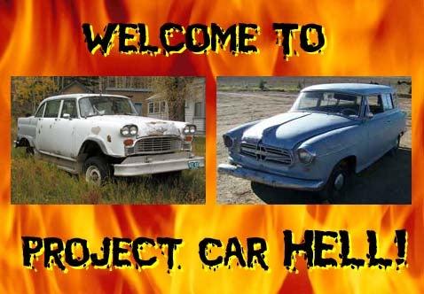 Project Car Hell: 4x4 Checker or Borgward Wagon?