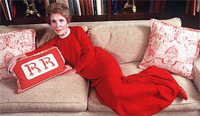 Like A Good Republican, Nancy Reagan Wore Red