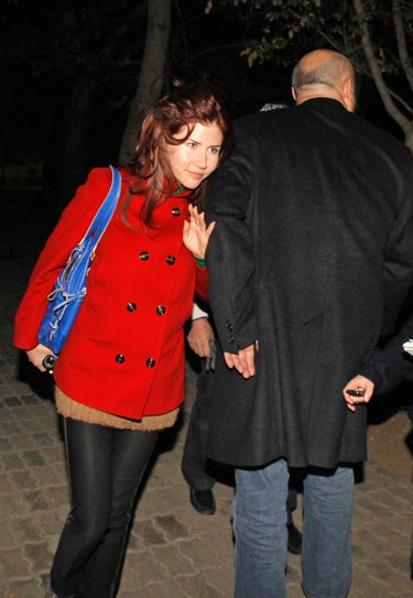 Sexy Spy Anna Chapman Spotted In Kazakhstan