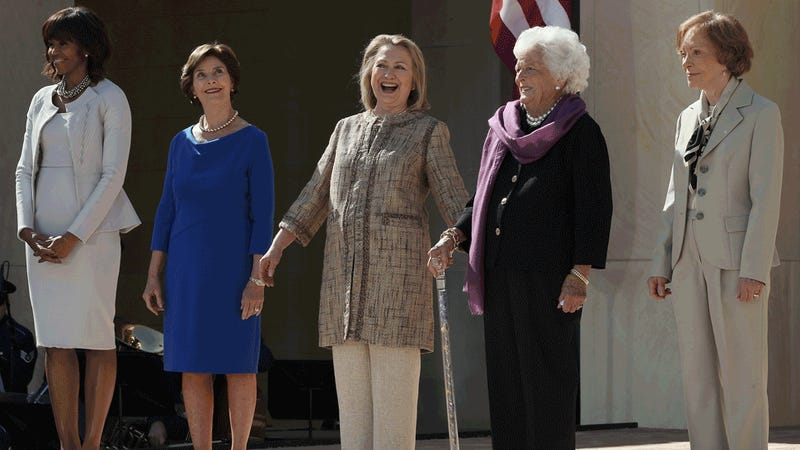 Do the First Ladies Remind You of Anyone?