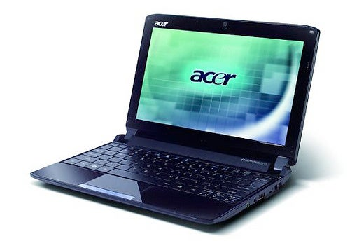 Acer 532h Netbook With Pine Trail, Pics and Specs Leak