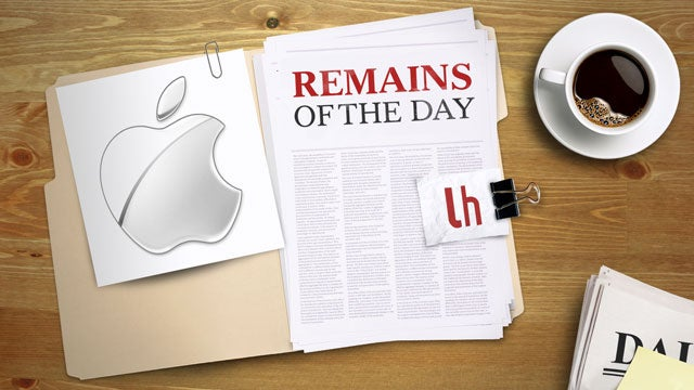 Remains of the Day: Apple Updates Malware Definitions to Fight SMS Scams
