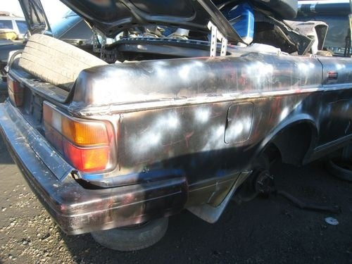 Sawzall Convertible Volvo 240 Down On The Junkyard