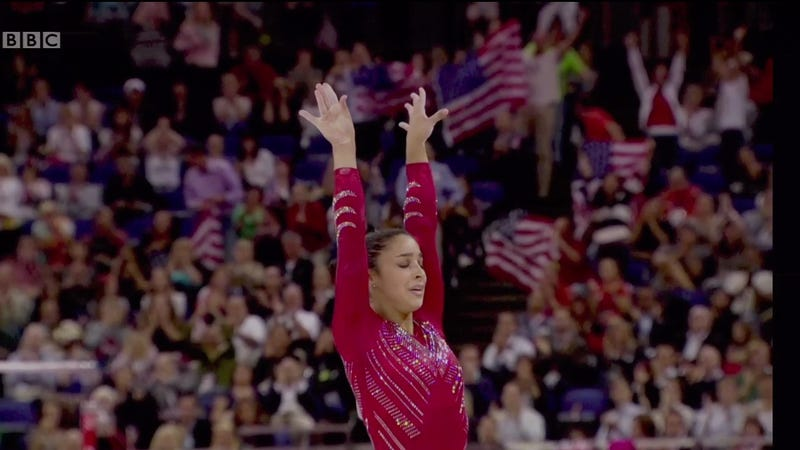 U.S. Women Win Team Gymnastics Gold