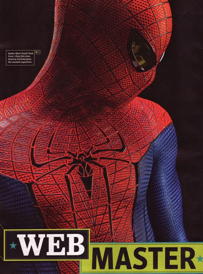 A Look at New Hi-Res Photos from The Amazing Spider-Man