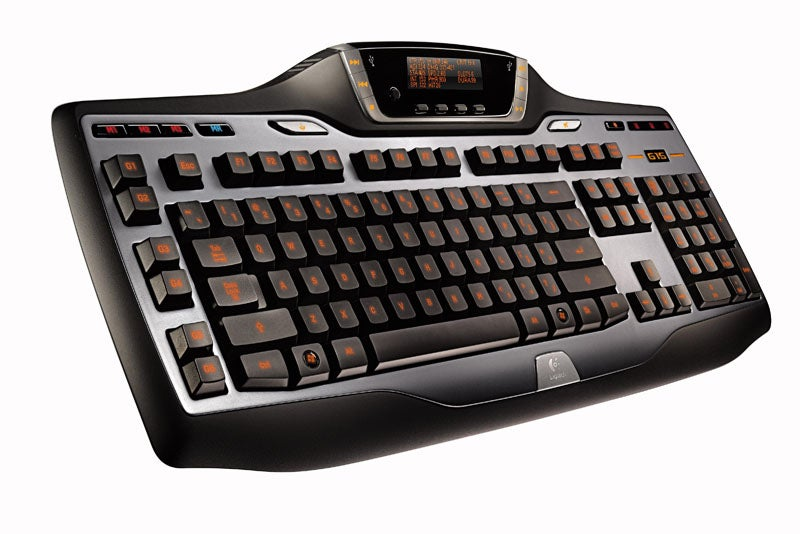 Logitech Updates G15 Keyboard with GamePanel LCD Screen