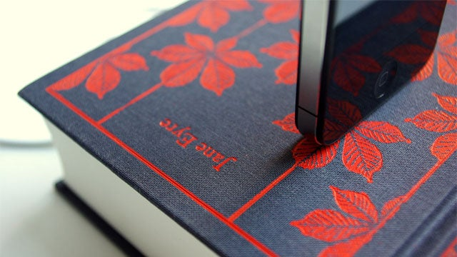 Turn Classic Literature Into an iPhone Charging Dock