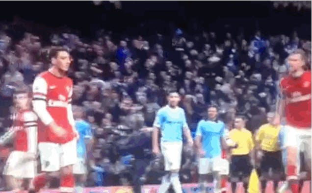 Arsenal Did A Lot Of Fingering During 6-3 Loss To Man City
