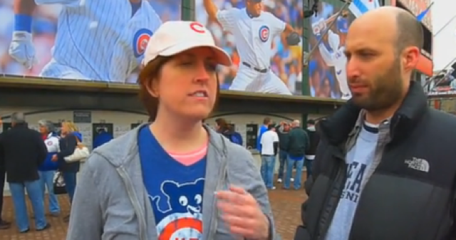 Cubs Fan* Who Slept On A Bar Floor Says She Likes Hot Guys Who Are Up For Anything
