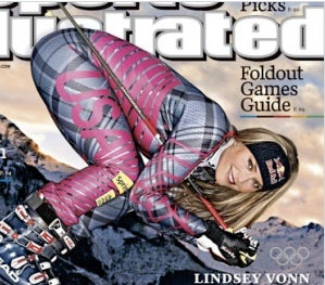 Lindsey Vonn's Buttocks Are The First Winter Olympics Controversy