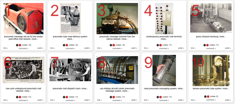 15 Pneumatic Tube Messaging Systems