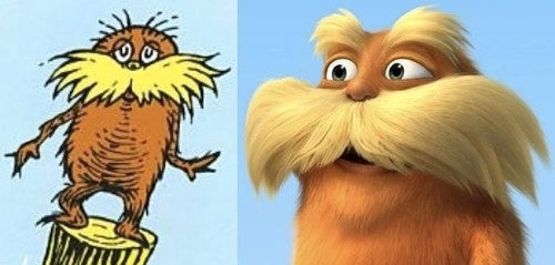 First look at Dr. Seuss' The Lorax: the movie