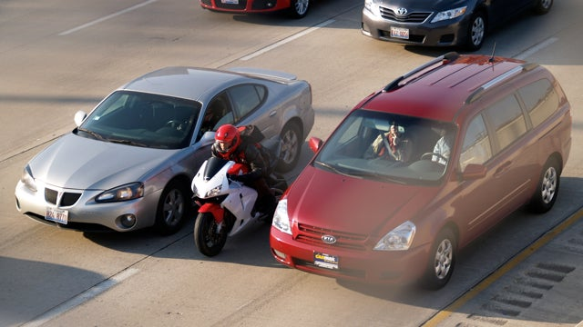One Man Just Made Lane Splitting Infinitely More Dangerous