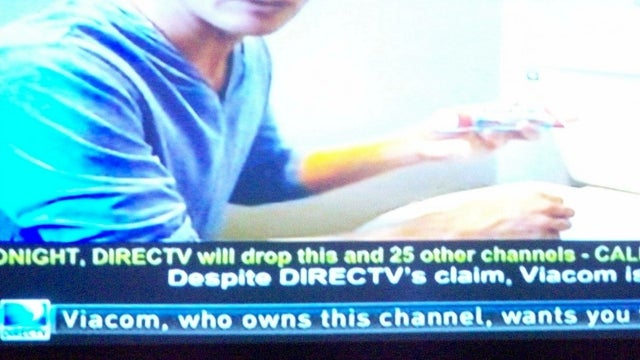 DirecTV Forced to Drop All Viacom Channels Over Fee Dispute