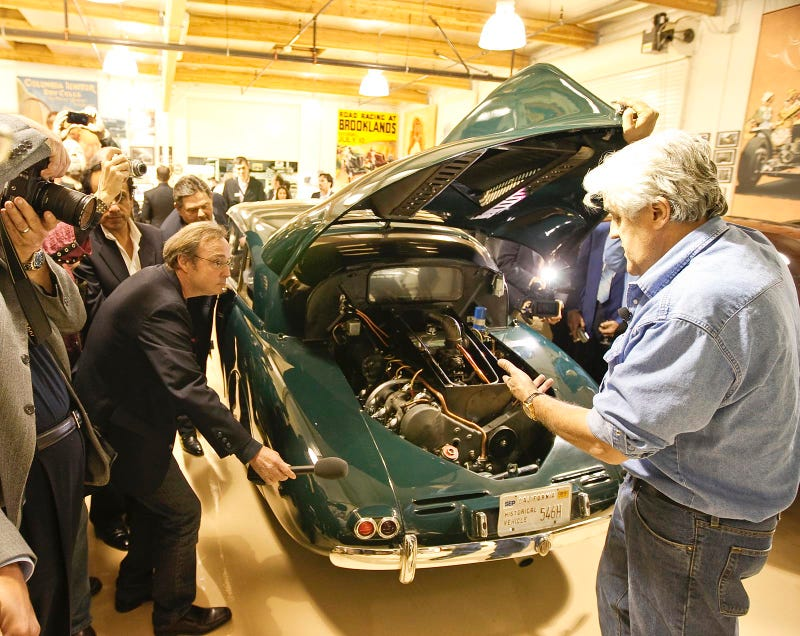 Burbank Envy: A Glimpse Inside Jay Leno's Garage