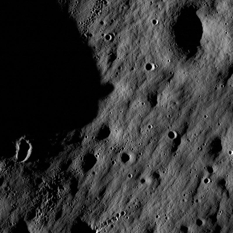 NASA Lunar Reconnaissance Orbiter Sends Most Detailed Moon Images Yet