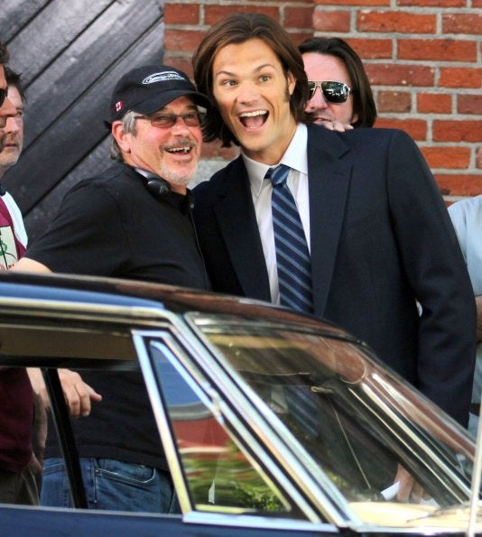 Supernatural season 7 set photos