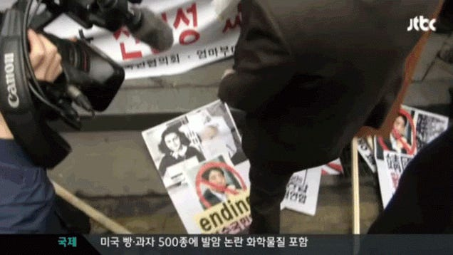 Japan and Korea Now Arguing Over Stomping on Anne Frank's Face