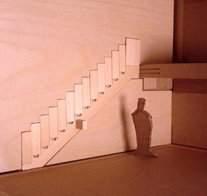 Disappearing Wall Stairs Should Be In Every Millionaire's Home