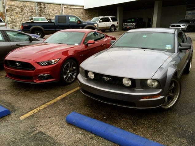 2015 mustang vs 2007 mustang how much better is it really. Black Bedroom Furniture Sets. Home Design Ideas