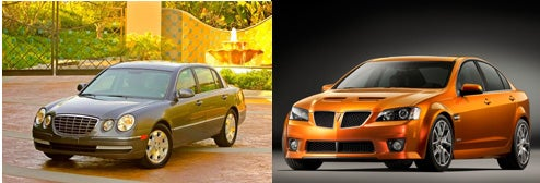 Atlanta Journal-Constitution Pits Kia Amanti Against...The Pontiac G8?!