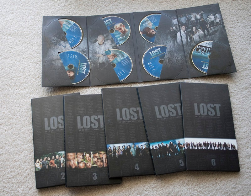 Lost: The Complete Blu-ray Collection Lightning Review